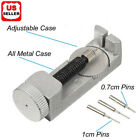 Metal Adjustable Watch Band Strap Bracelet Link Pin Remover Repair Tool Kit Set2 image