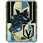 """Golden Knights OFFICIAL National Hockey League, """"Home Ice Advantage"""" 48""""x 60"""" Wo $37.99 USD on eBay"""