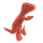 Dinosaur Shape Pet Dog Chew Toy Cotton Squeaky Toy for Indoor Playing Biting