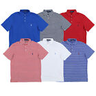 Polo Ralph Lauren Mens Polo Shirt Interlock Knit Pocket Top Collared Lightweight