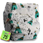 Baby Washable Reusable Cloth Nappy Hook-Loop STANDARD Pocket Diaper Cover Wrap