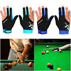 Spandex Snooker Three-finger Billiard Glove Pool Left And Right Hand Open AU $19.51 AUD on eBay