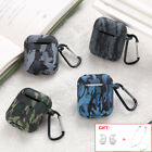 For Apple AirPods Earphones Camouflage Case Silicone AirPod Protector Cover Skin