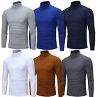 Kyпить UK Men Long Sleeve Thermal Cotton High Collar Skivvy Turtle Neck Sweater Winter на еВаy.соm