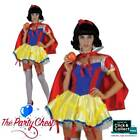 SEXY SNOW WHITE COSTUME Ladies Fairy Tale Sexy Princess Fancy Dress Outfit 0012