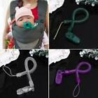 Toddler Baby Dummy Pacifier Soother Nipple Chain Clip Holder Elastic Chain QK