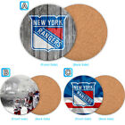 New York Rangers Wooden Coaster Pad Cup Mug Mat Placemat Table $3.49 USD on eBay