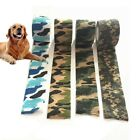 Pet Dog Cat Wound Vet Cohesive Bandage Self Adherent Animals Wrap Tape Pro 1Roll