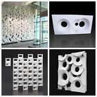 2pcs ABS Plastic molds for Plaster Gypsum 3D Decorative Wall BLOCK Panels CHOOSE image