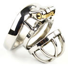 Stainless Steel Super Small Male Chastity Device Metal Cage Belt A273