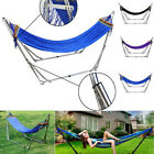 7.2ft Strong Folding Hammock Frame Stand Outdoor Garden Camping Hammock Summer