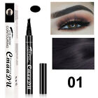 Microblading Tattoo Lasting Eyebrow Ink Pen Brow Fork Tip Pencil Beauty