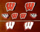 Iron Sew On Transfer Applique University of Wisconsin Badgers Cotton Patches