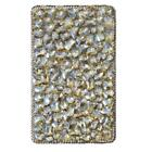 3D Handmade Bling Jewelled Crystal Diamonds leather Folios tablet Case Cover #A