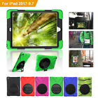 Full-Body Shockproof Protective Case Cover Silicone with Stand for Ipad 9.7 2017