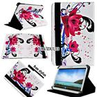 For Various Samsung Galaxy Tab 2/3/4 Tablet -Folio Stand Leather Cover Case +pen