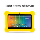 "XGODY For Kids 7"" Android 4.4 Tablet PC 8GB Dual-Cam IPS Bundle Case No.09 No.29"