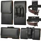 Mens Holster Belt Clip Loop Pouch Magnetic Leather Waist Bag Wallet Fanny Pack