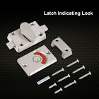 Door Lock Latch Indicator Bolt Vacant Engaged Privacy Set for Toilet Bathroom