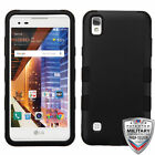 For LG L56VL/Tribute/X STYLE TUFF Hybrid Shockproof Phone Protector Case Cover