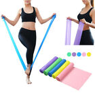 New 1.5m Elastic Yoga Pilates Rubber Stretch Resistance Exercise Fitness Belt US image