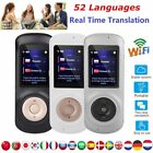 52 Languages Smart WIFI Translator Real Time Instant Voice Translation 2.4inch