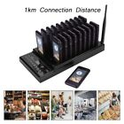 Wireless Restaurant Serving Calling Queue System Keyboard+20pcs Coaster Pagers