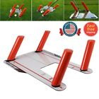 Golf Speed Trap Base 4 Rods Golf Swing Trainer Training Hitting Practice Tool US