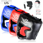 Kyпить Boxing Training Face headgear MMA Protector Head Guard Kick Helmet Martial Art на еВаy.соm