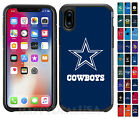 For Apple iPhone X | XS - Official NFL Football Fans ShockProof Armor Cover Case $24.99 USD on eBay