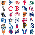 MLB Team Logo Decal Stickers Baseball CHOOSE YOUR TEAM OR SET INDOOR USE ONLY