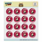Whiskey Because Beer Isn't Fast Enough Puffy Bubble Scrapbooking Sticker Set