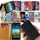 Folio Leather Stand Wallet Cover Case For Various ZTE Blade SmartPhones + Strap