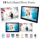 13-Inch Front Touch Screen Button High-Definition Digital Photo Frame Remote