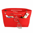 Women Felt Purse Handbag Organizer Insert Multi Pocket Storage Tote Bag Durable