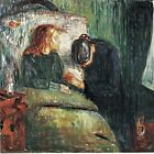 The Sick Child by Norwegian Edvard Munch. Fine Art Repro Choose Canvas or Paper