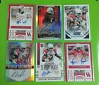 NCAA FOOTBALL ALL AUTO TEAM LOTS COLLEGE UNIFORMS ONLY NO DUPES RCS NUMBERED