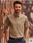 Men's Shirts Twill Classic short Sleeves 100% Cotton (Twill ), Fabric Soft