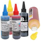 100ml Color Ink Cartridge Refill Replacement-Kit for HP Canon Brother Printe AWP