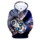 Borderlands Sweatshirt 3D Hoodie Activewear Sports Pullover Cotton Cosplay Print