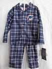 Miami Dolphins 2 Pc Flannel Pajamas 100% Polyester Flame Resistant NWT on eBay