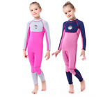 Kids Children Girl 3MM SCR Neoprene Diving Suit Swim Scuba Surf Warm Wetsuits