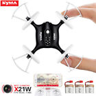 2Batteries MINI RC Drone Syma X21W Quadcopter FPV WIFI Camera Flight Track UK