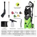 3500Psi 1.8 Gpm Electric Pressure Power Washer Hose Detergent Tank Cleaner Kit
