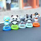 New Solar Powered Cute Animal Swinging Animated Dancer Toy Car Decoration