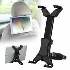 "360°Car Seat Back Headrest Mount Holder 7-12""Tablet For IPad Mini GPS Bracket US"