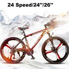 "Men/Women 24Speed 24""/26"" Wheel MTB Frames Full Suspension Mountain Bike/Bicycle <br/> *UK STOCK *BRAND NEW *HIGH QUALITY"