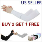 Внешний вид - 1 Pair Cooling Arm Sleeves Cover UV Sun Protection Outdoor Sports men women