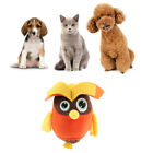 Cute Plush Squeak Pet Puppy Dog Chew Toy, Cleaning Tooth Owl/Pony Shape