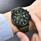 Men's Military Steel Military Date Quartz Analog Army Casual Dress Wrist Watches image
